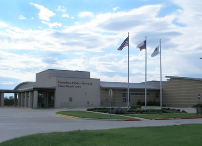Carrollton Public Library at Josey Ranch Lake