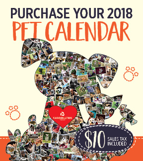 2017 Pet Calendar_enews image