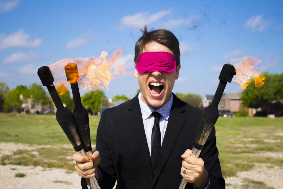 Fire Blindfold
