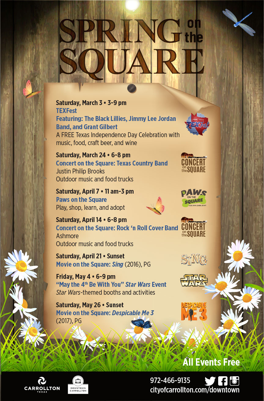 2018 Downtown Spring Events