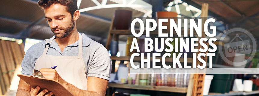 opening a business checklist city of carrollton tx
