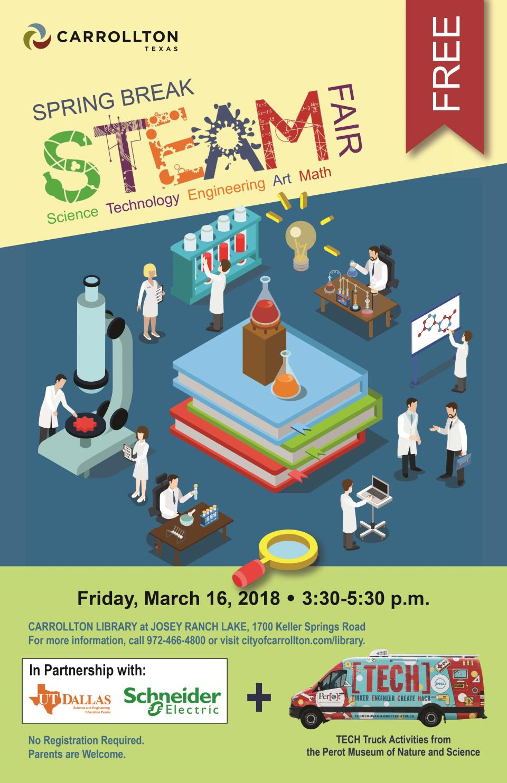 STEAM FAIR Poster 11x17in
