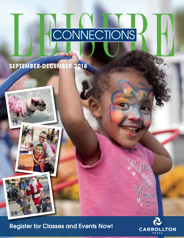 Leisure Connections Fall 2018 Cover