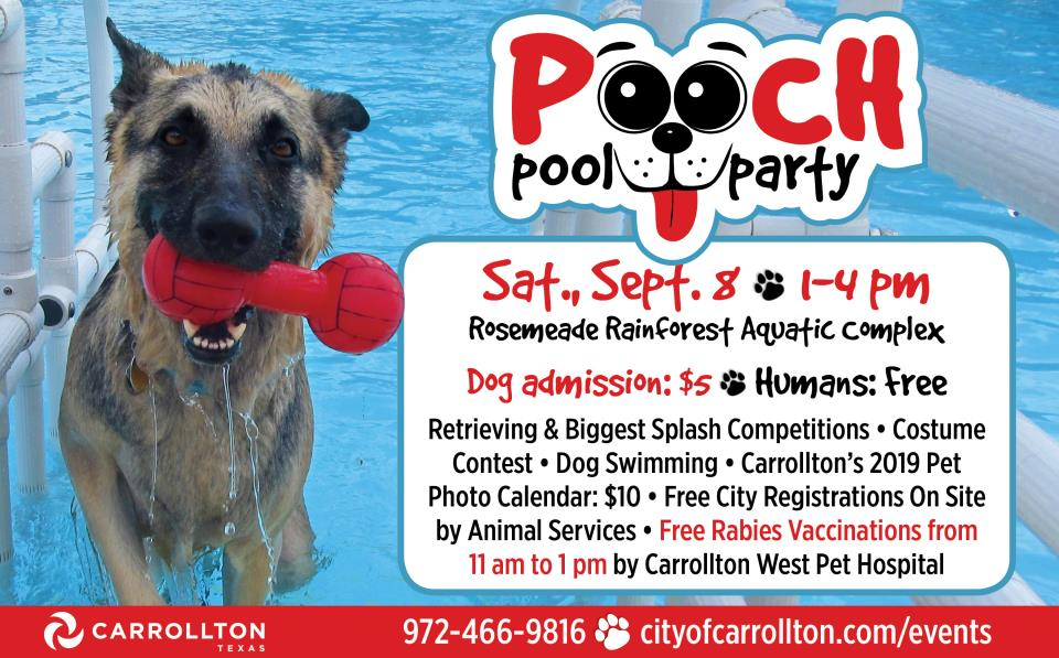 2018 Pooch Pool Party