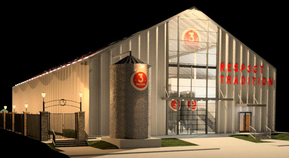 3 Nations Brewing Co. rendering