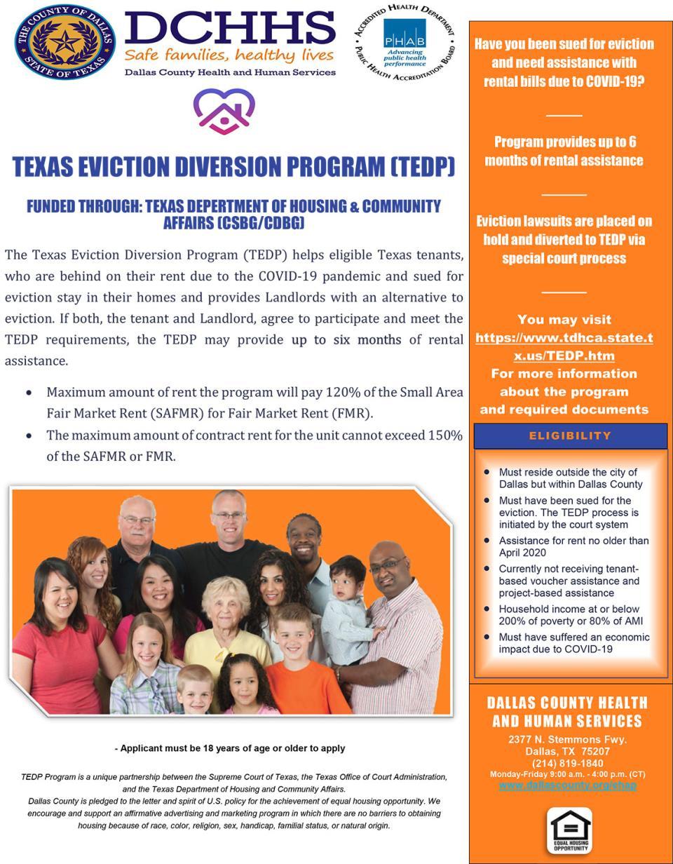 TEDP Flyer