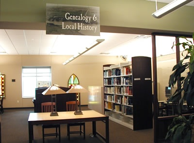 Genealogy & Local History Room