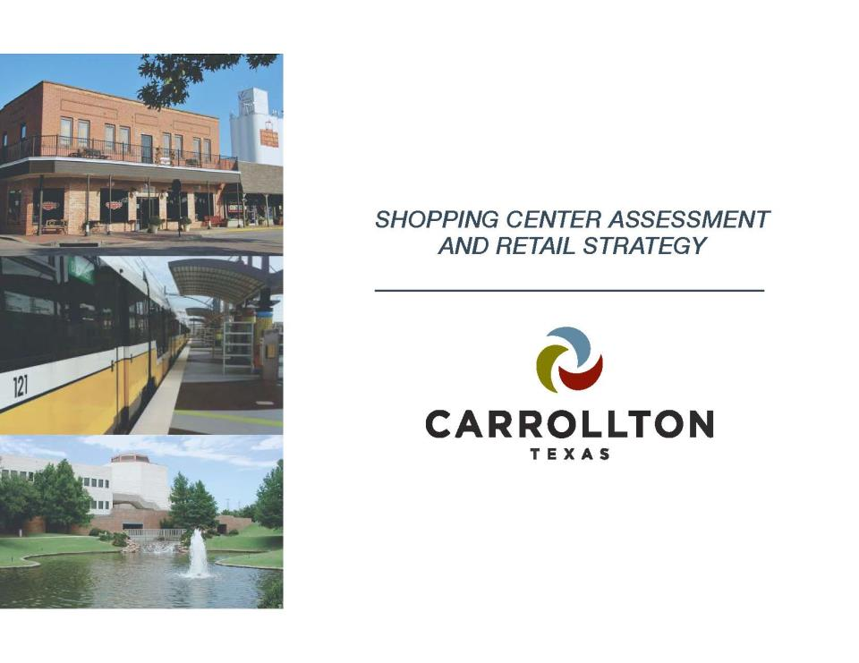 Carrollton Retail Study - Cover