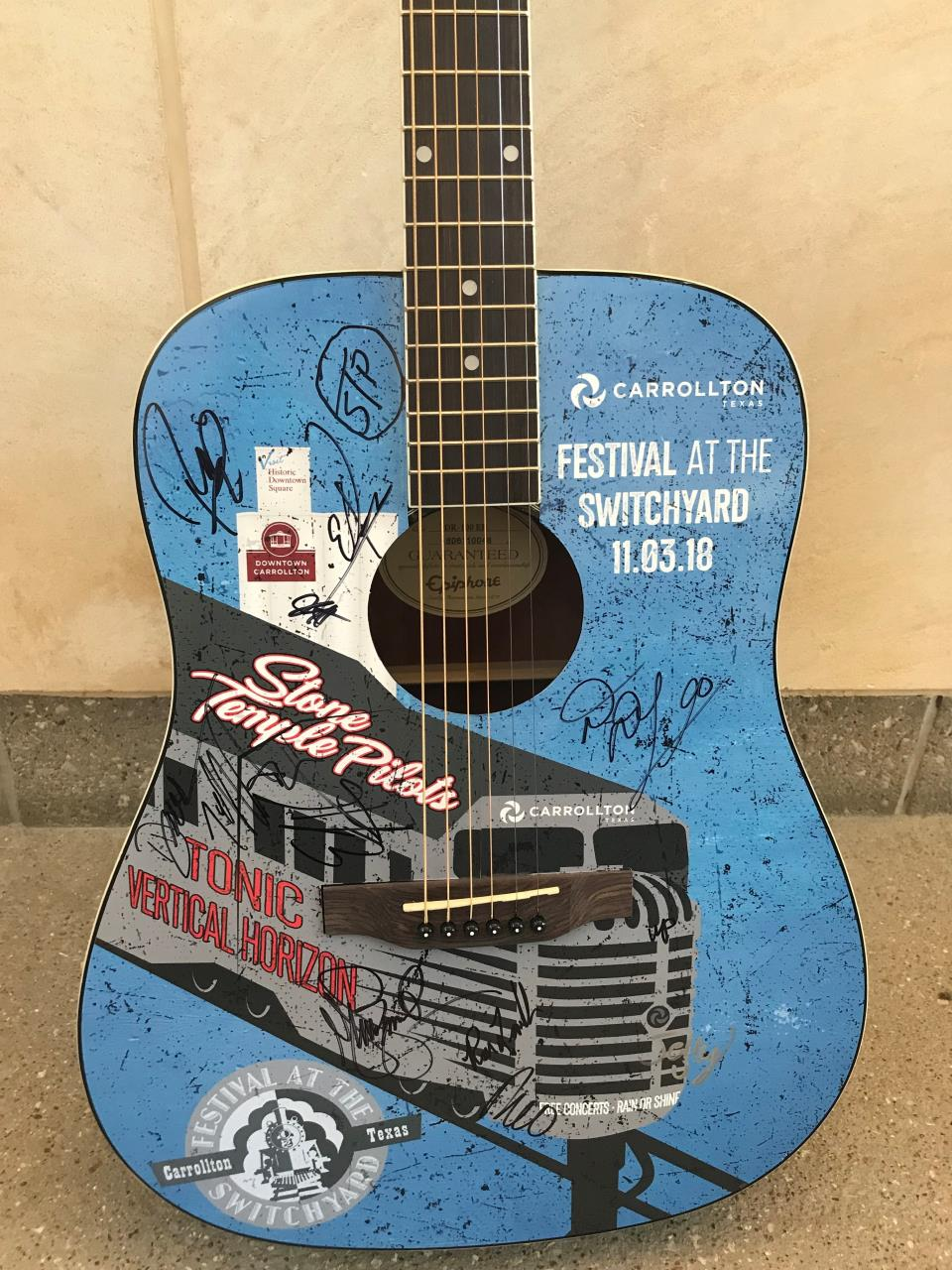 2018 Guitar Giveaway Contest | City of Carrollton, TX