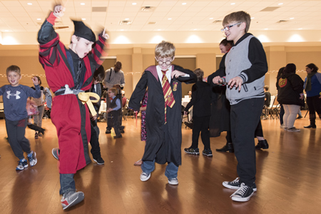 Harry Potter Yule Ball dancing