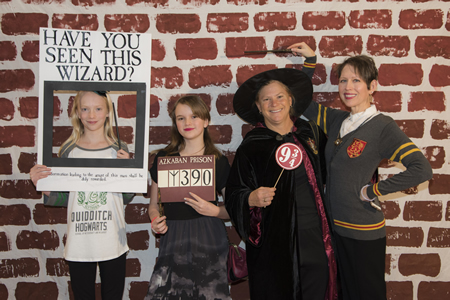 Harry Potter Yule Ball photo booth
