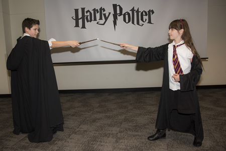 Harry Potter Yule Ball dueling