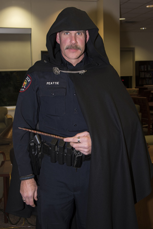 Harry Potter Yule Ball wizard police officer