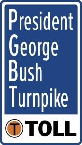 NTTA - PGBT Toll Sign