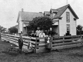 CH Fyke House_William and Lura Dale Fyke Family