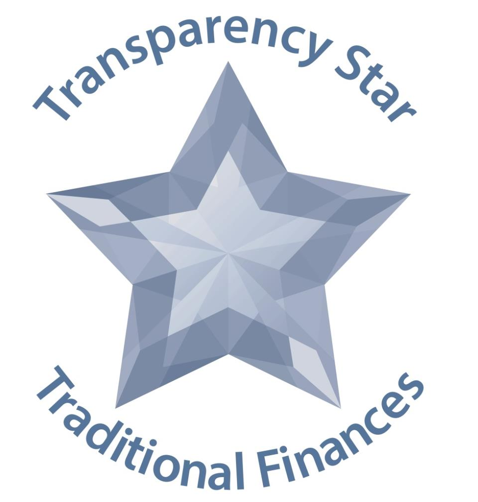 Texas Comptroller Transparency Star for Traditional Finances