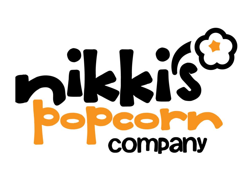 Nikki's Popcorn Company Vertical Color