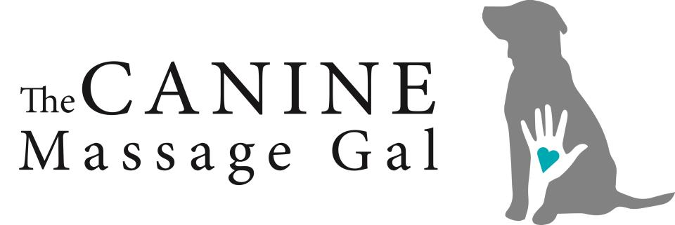 Canine Massage Girl Logo