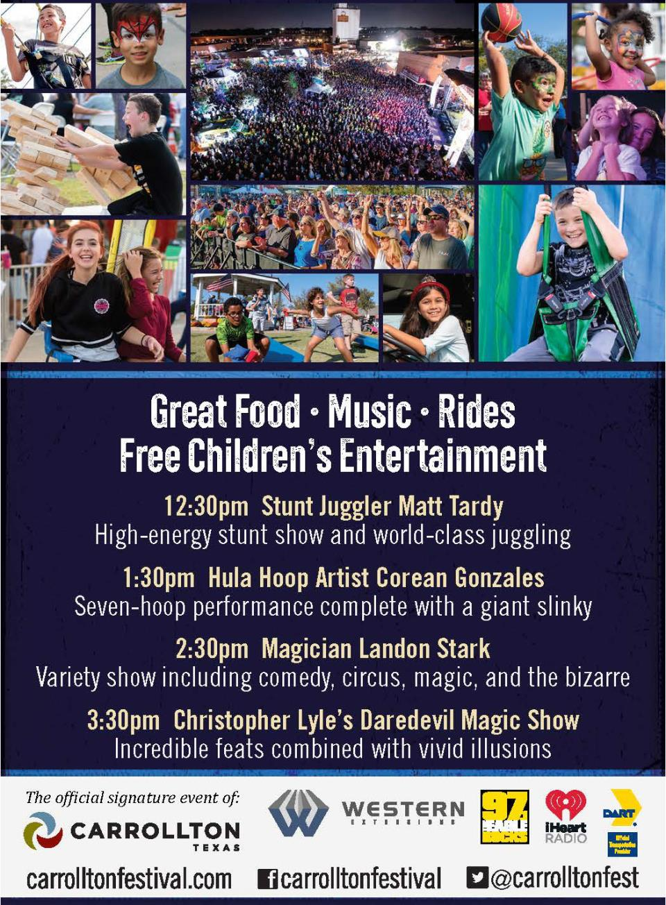 Festival at the Switchyard Children's Entertainment