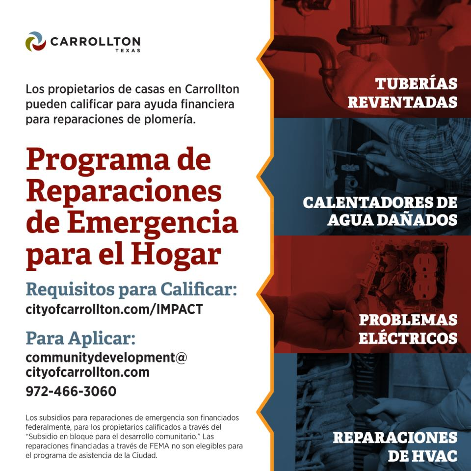 Emergency Home Repair Program Spanish
