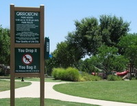 click on photo of park rules for larger photo